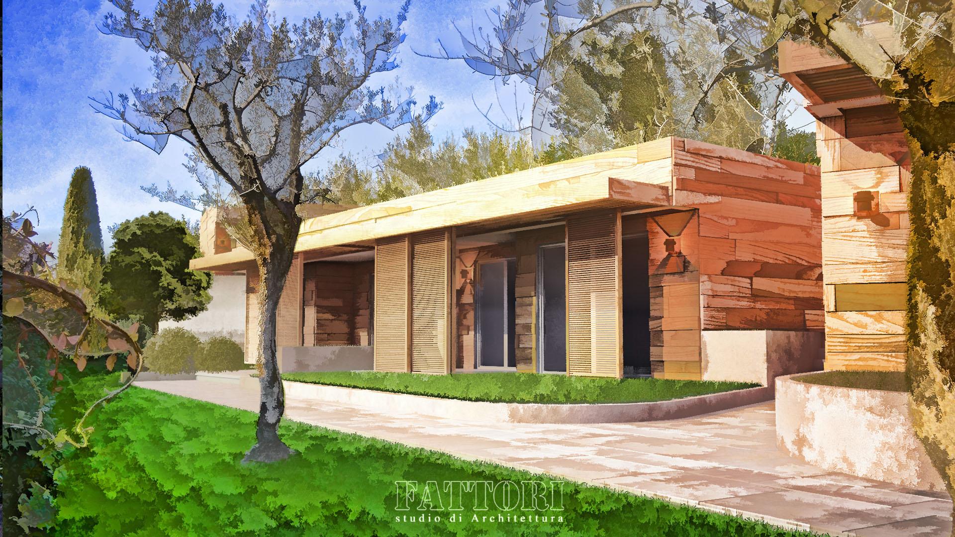 Studio di Architettura Fattori Fausto - Hotel Olivi Sirmione - proposta progetto copertura park e realizzazione corpi suites_1