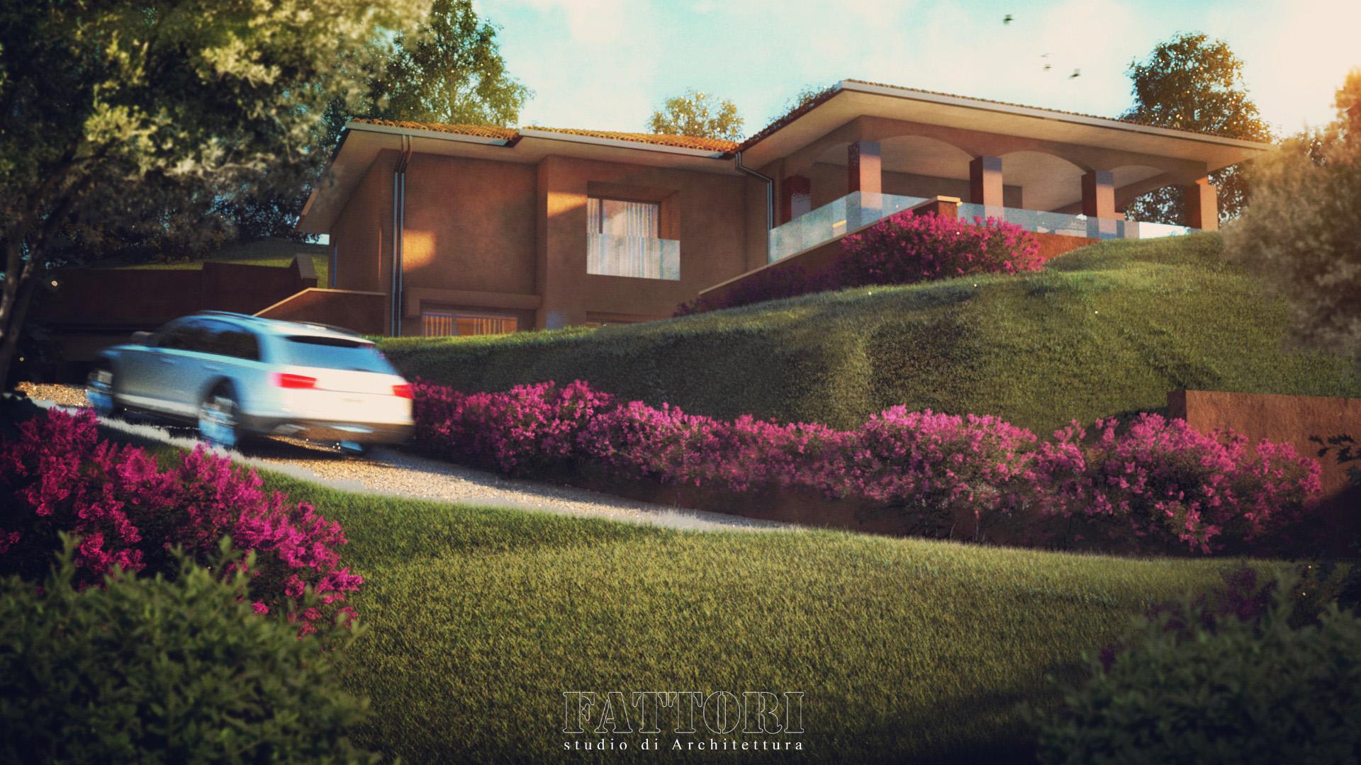 Studio di Architettura Fattori Fausto - progetto residenza privata_1