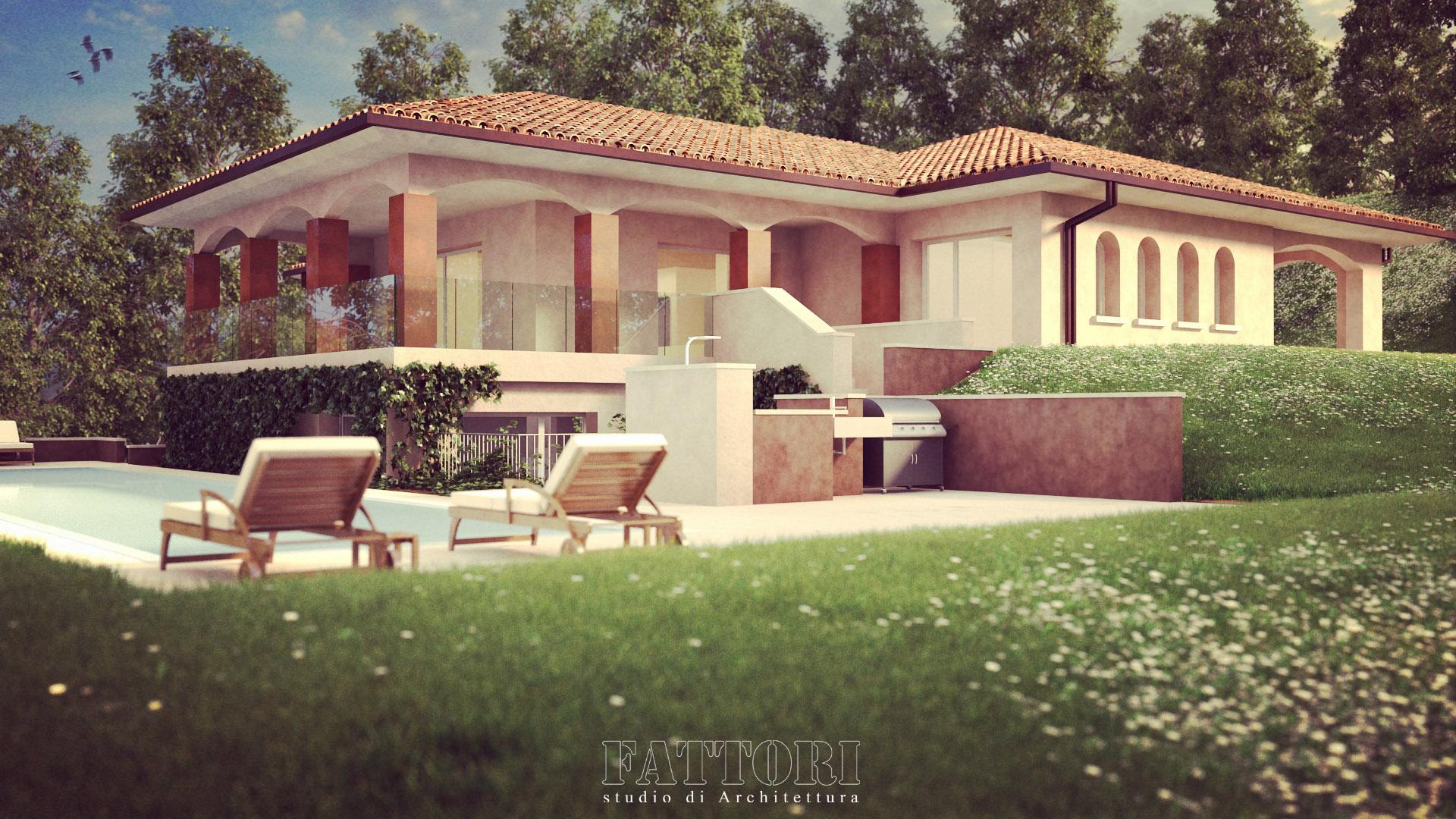 Studio di Architettura Fattori Fausto - progetto residenza privata_2