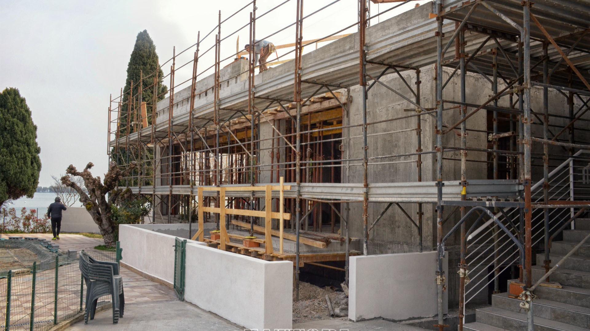 Studio di Architettura Fattori Fausto_progetto villa residenziale_camping sirmione_1