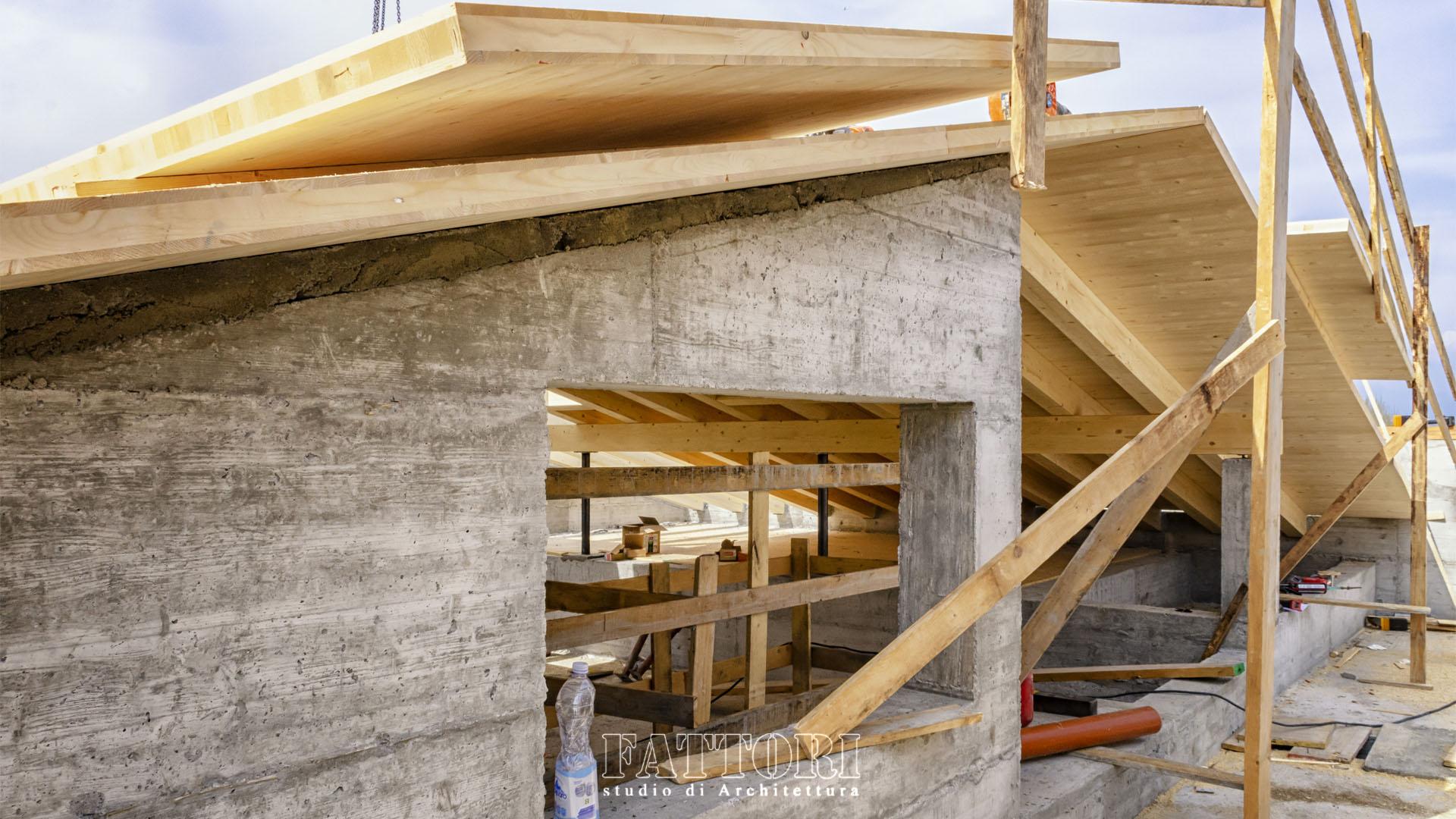 Studio di Architettura Fattori Fausto_progetto villa residenziale_camping sirmione