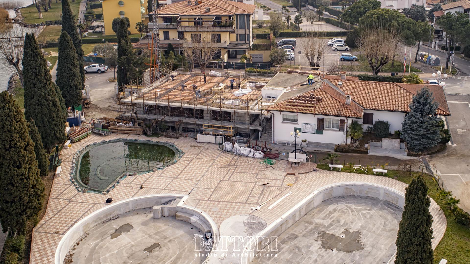 Studio di Architettura Fattori Fausto_progetto villa residenziale_camping sirmione_9