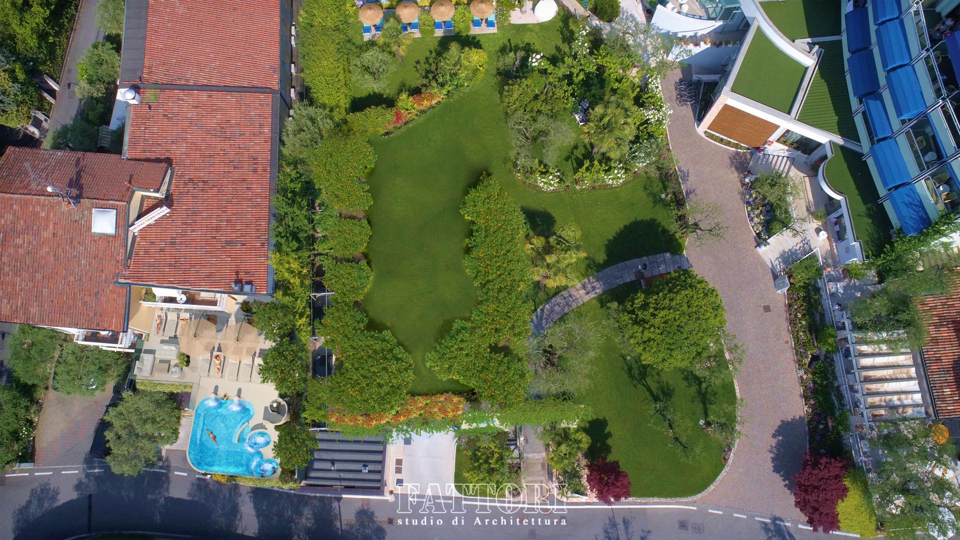 Studio di Architettura Fattori Fausto - Hotel Serenella Sirmione - proposta copertura parcheggio e SPA_dopo1
