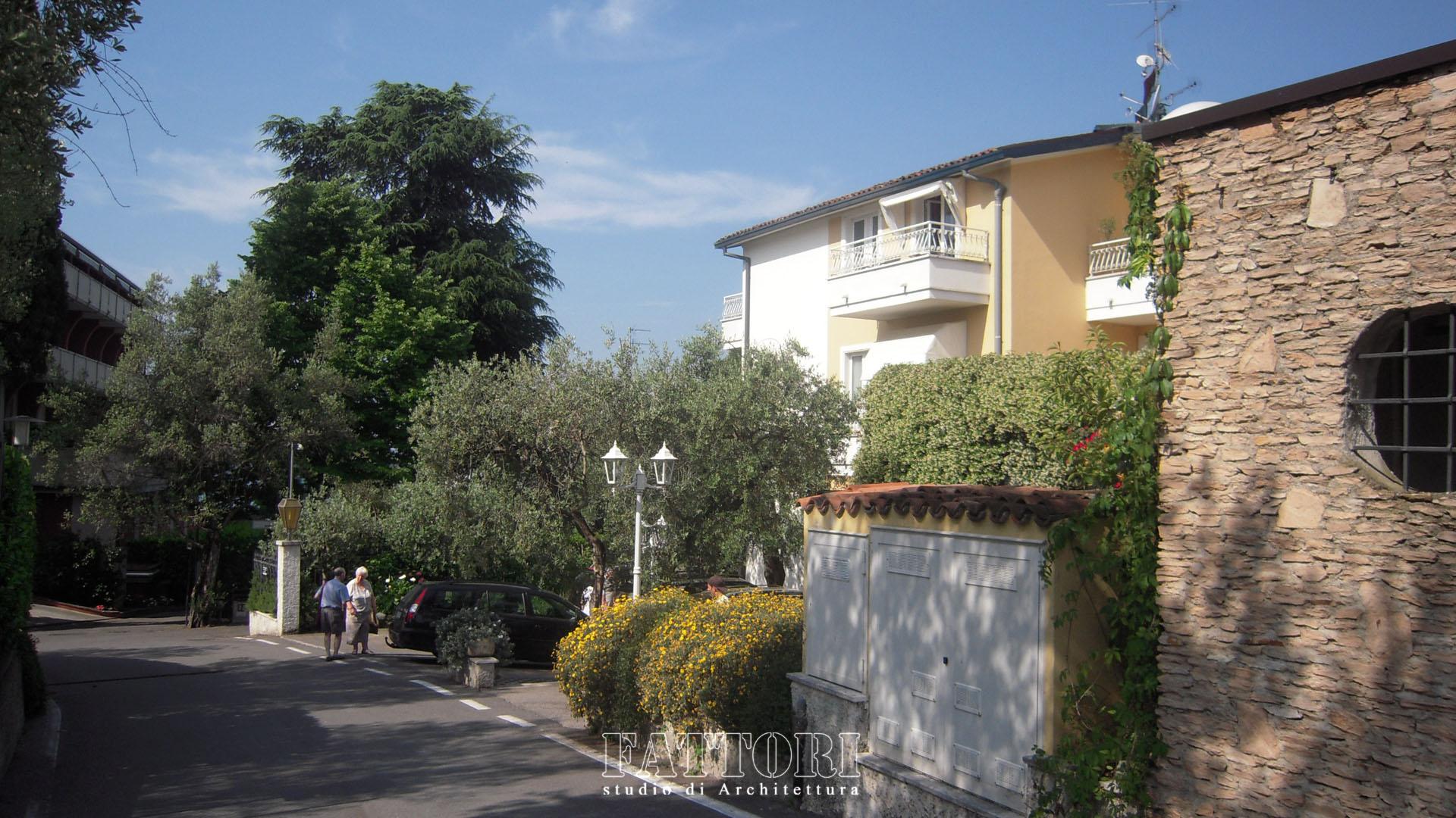 Studio di Architettura Fattori Fausto - Hotel Serenella Sirmione - proposta copertura parcheggio e SPA_prima3