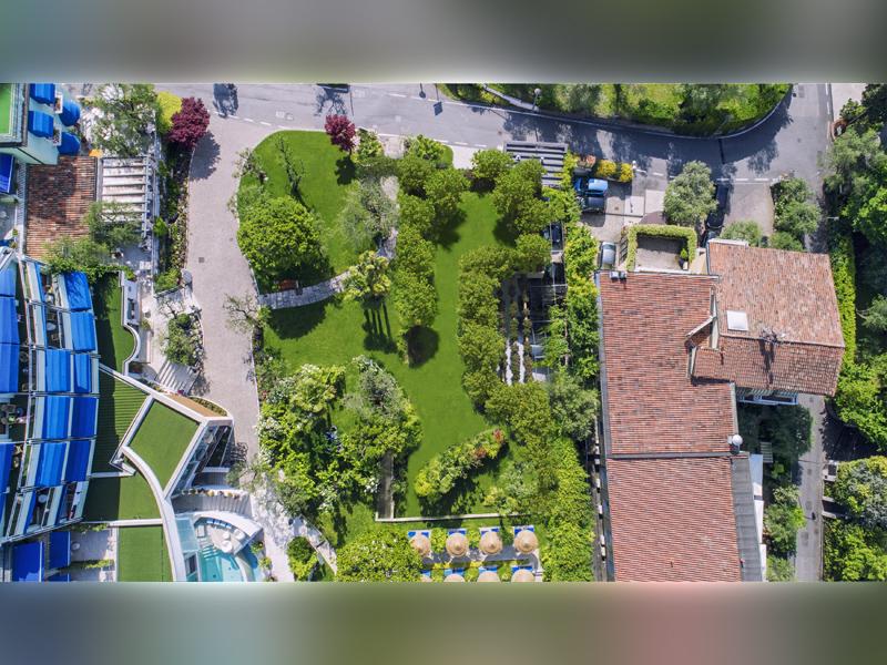 Studio di Architettura Fattori Fausto - Hotel Olivi Sirmione - progetto copertura parcheggio con solaio post teso - dopo 3