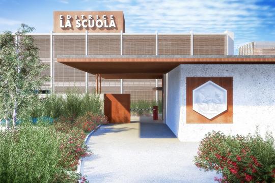 Studio di Architettura Fattori Fausto_Editrice la Scuola Brescia - progetto nuova sede_4