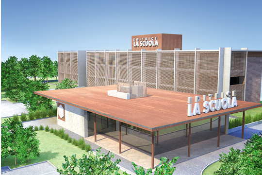 Studio di Architettura Fattori Fausto_Editrice la Scuola Brescia - progetto nuova sede_5