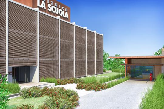 Studio di Architettura Fattori Fausto_Editrice la Scuola Brescia - progetto nuova sede_2