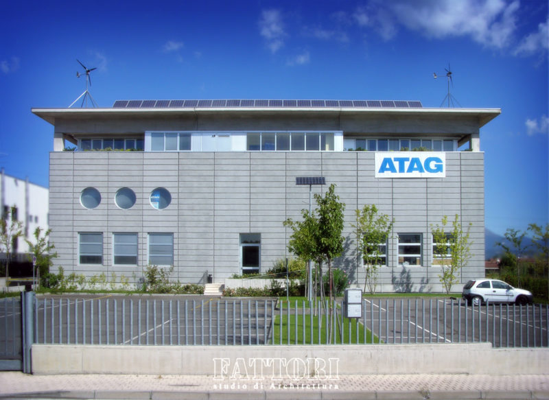 Studio di Architettura Fattori Fausto - Atag / Cosmod - progettazione nuova sede_4