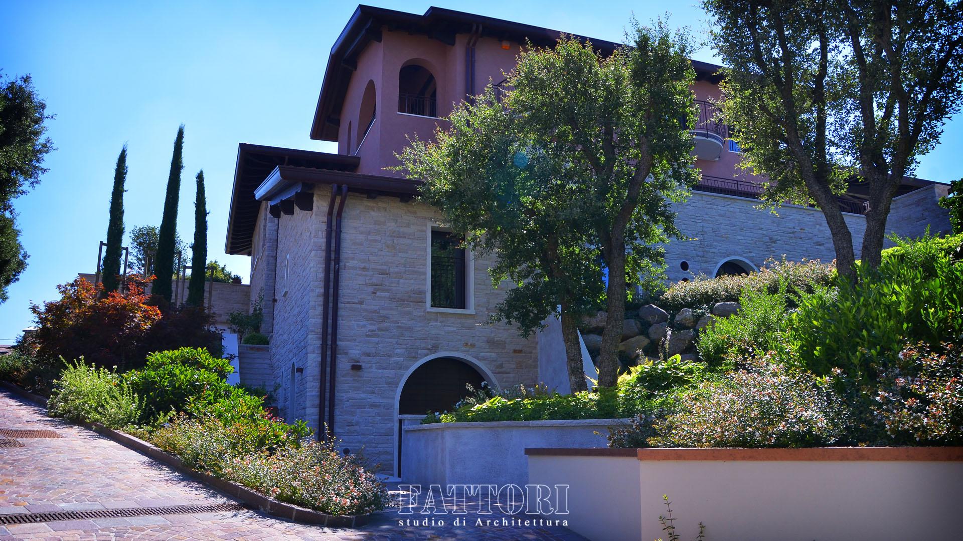 Studio di Architettura Fattori Fausto_progettazione ville residenziali_2