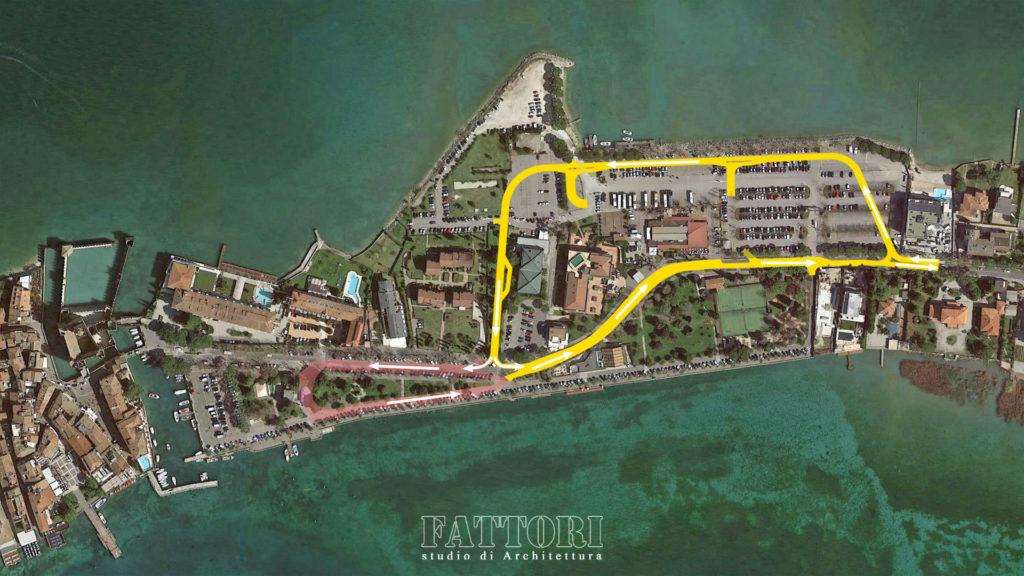 Studio di Architettura Fattori Fausto - progetto viabilità Sirmione - Fase UNO