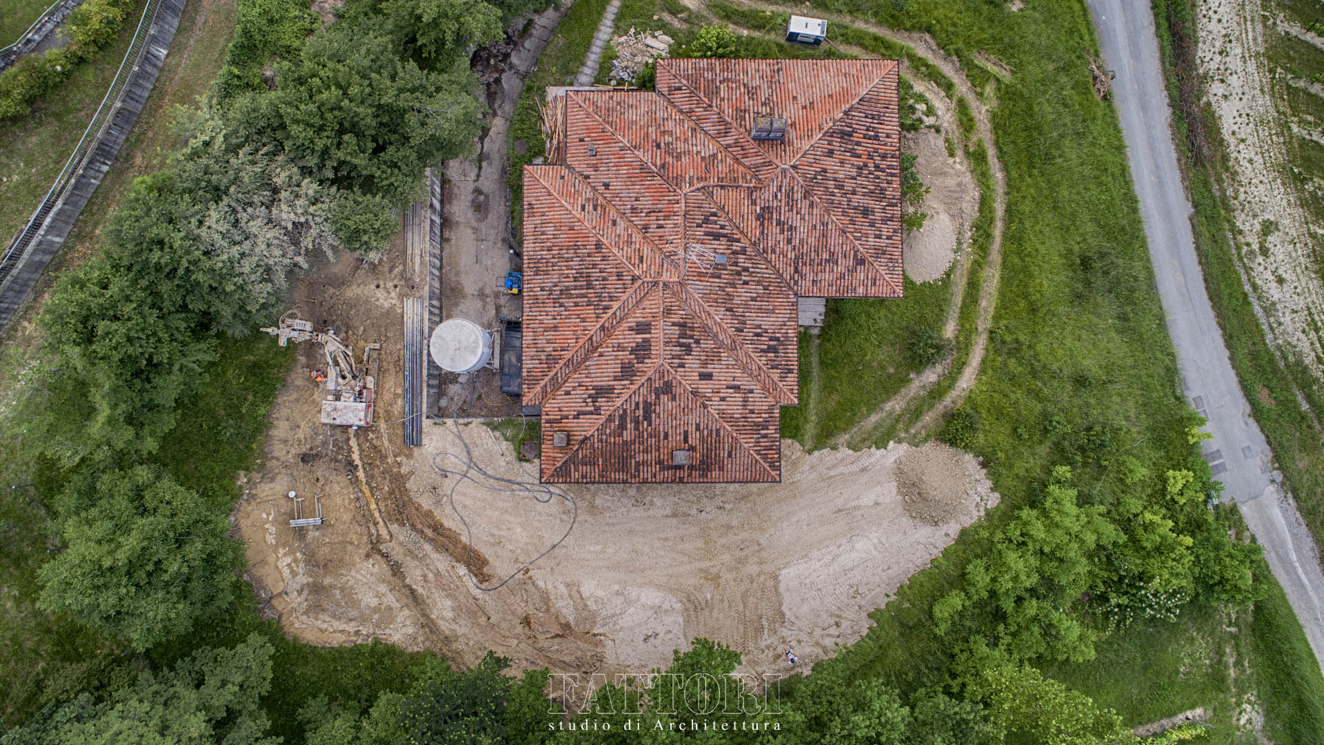Studio di Architettura Fattori Fausto - progetto residenza privata_micropali consolidamento terreno_1