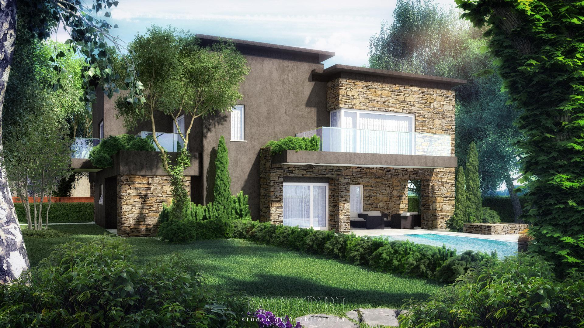 Studio di Architettura Fattori Fausto_progetto villa residenziale_1