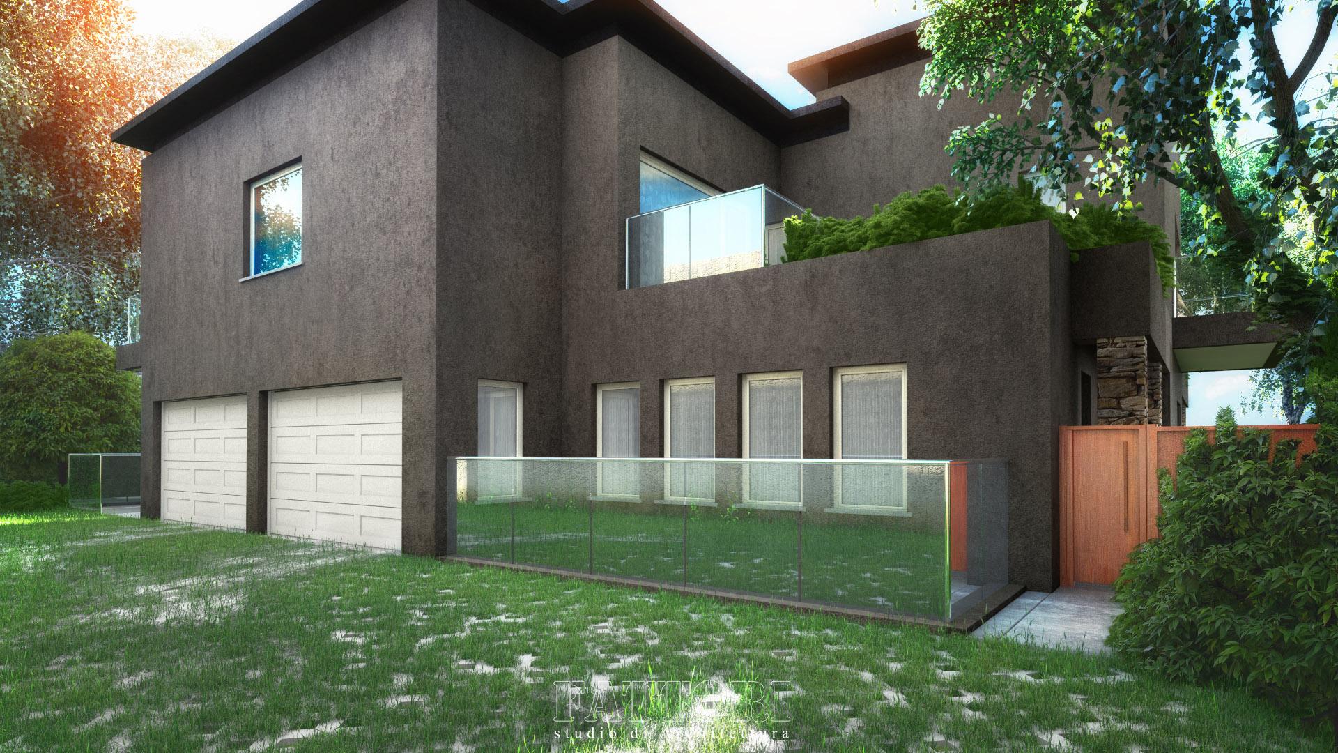 Studio di Architettura Fattori Fausto_progetto villa residenziale_2